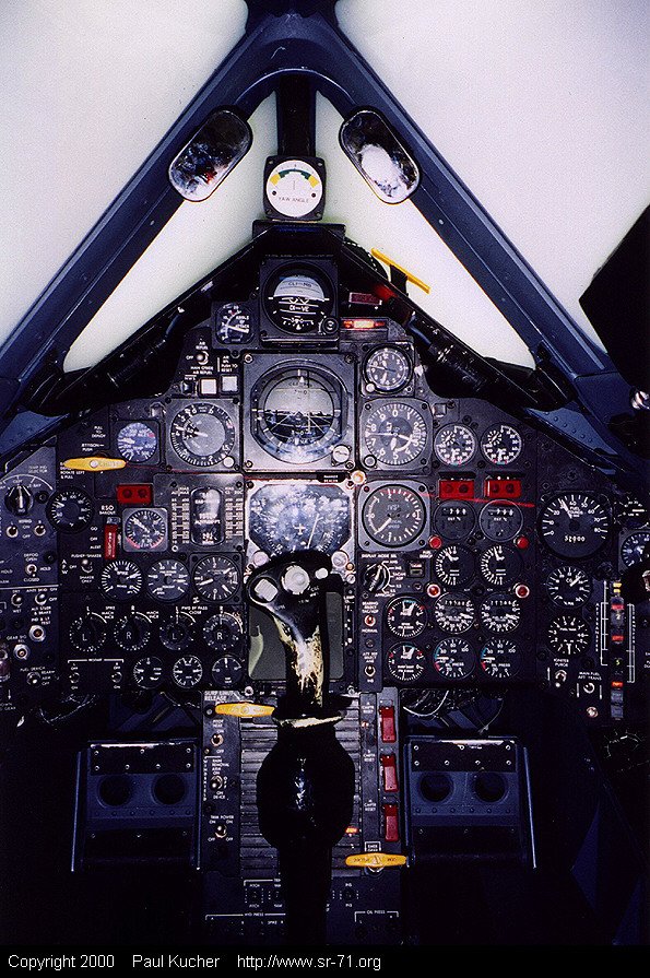 SR-71 Simulator Forward Panel